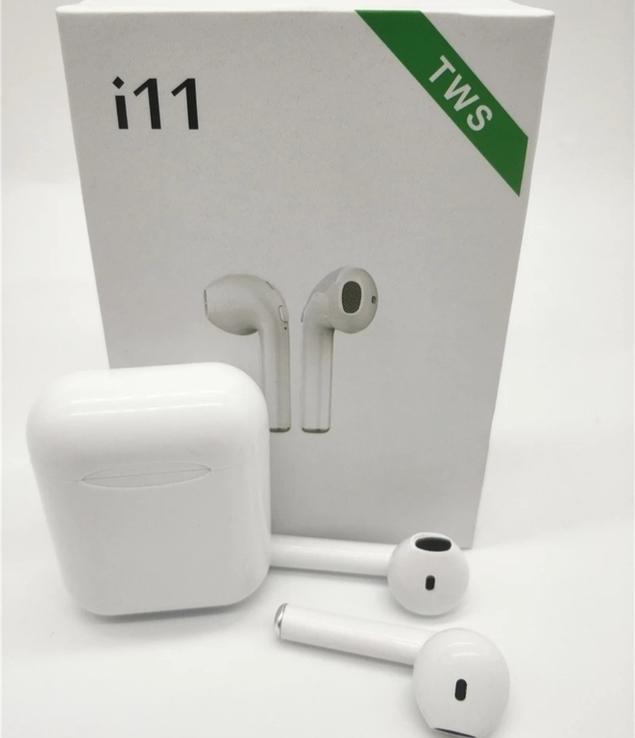Беспроводные Блютуз Наушники - Bluetooth наушники i11S TWS, фото №2