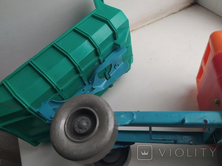 Машинка грузовик Стрела. СССР., фото №8