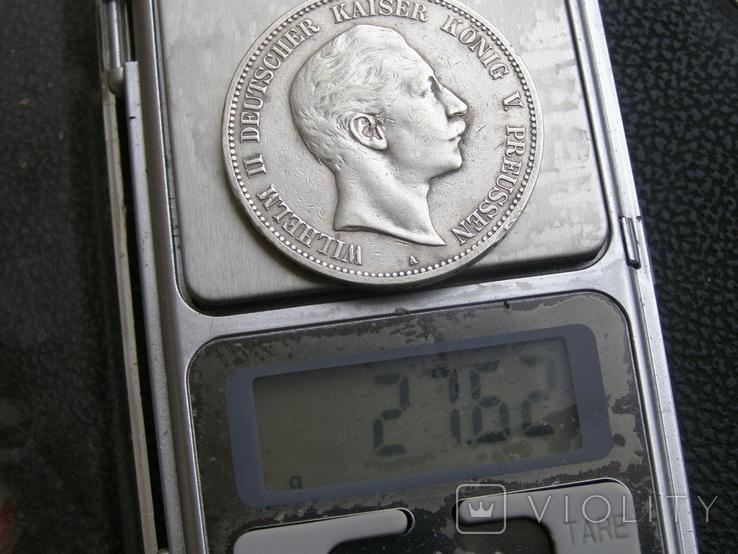 5 марок 1902 А Пруссия, фото №8