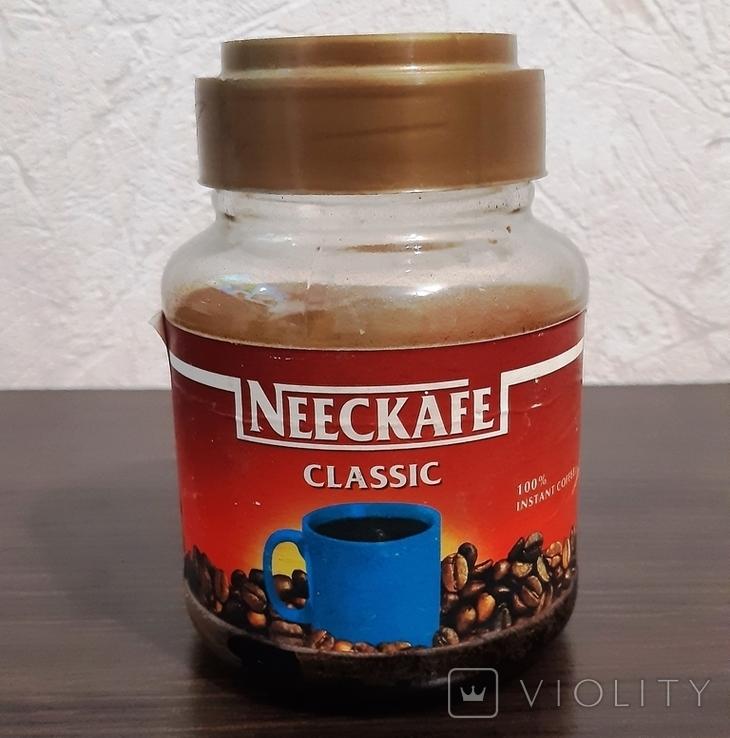 Стеклянная банка NEECKAFE Classic девяностые годы (не путать Nescafe), фото №2
