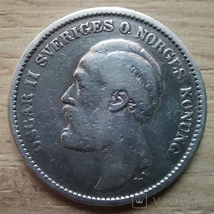 2 крони 1904 р.Швеція, фото №2