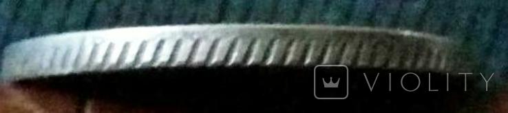 25 копійок 1798 року.Росія /КОПІЯ/ не магнітна, посрібнена, фото №4