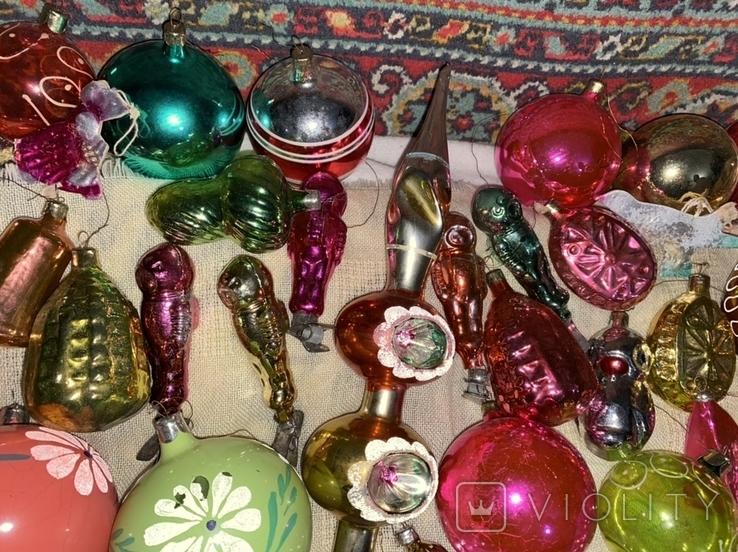 Ялинкові іграшки 150 шт елочные игрушки СССР, фото №13