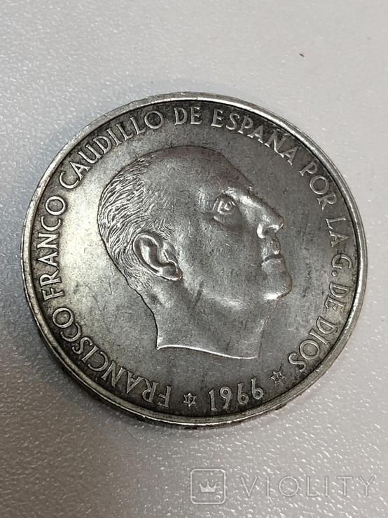 100 песет 1966, фото №9