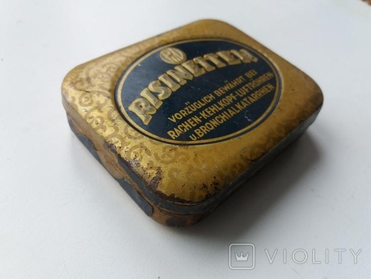 Коробочка от немецких таблеток периода Второй Мировой войны Risinetten, фото №3