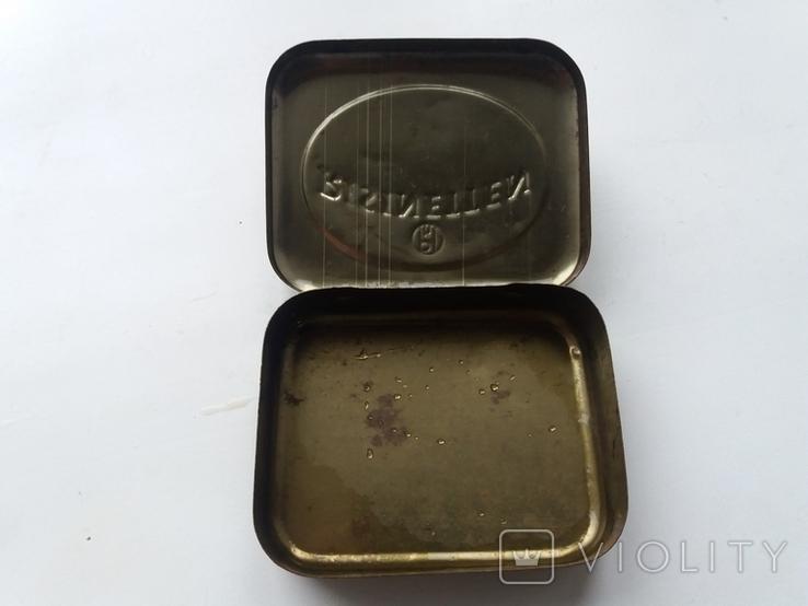 Коробочка от немецких таблеток периода Второй Мировой войны Risinetten, фото №5