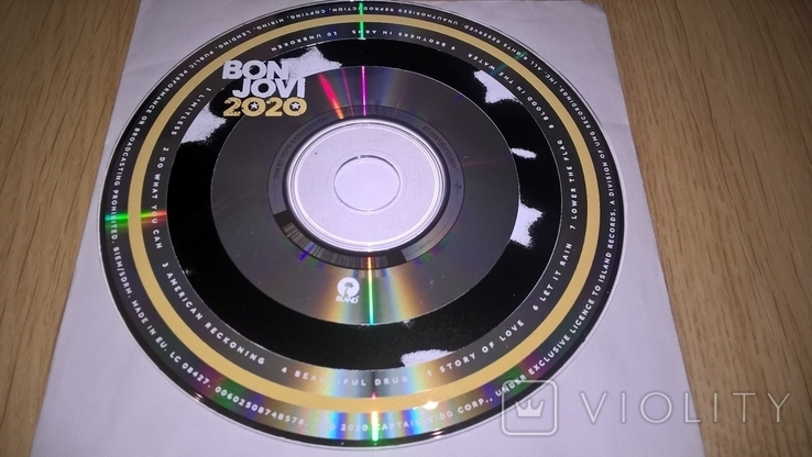 Bon Jovi (2020) 2020. (CD). Диск. Буклет 8 Страниц. Europe. S/S., фото №6
