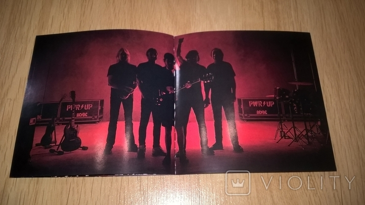 AC/DC  (PWR/UP) 2020. (CD). Диск. Буклет 12 Страниц. Europe. S/S., фото №13