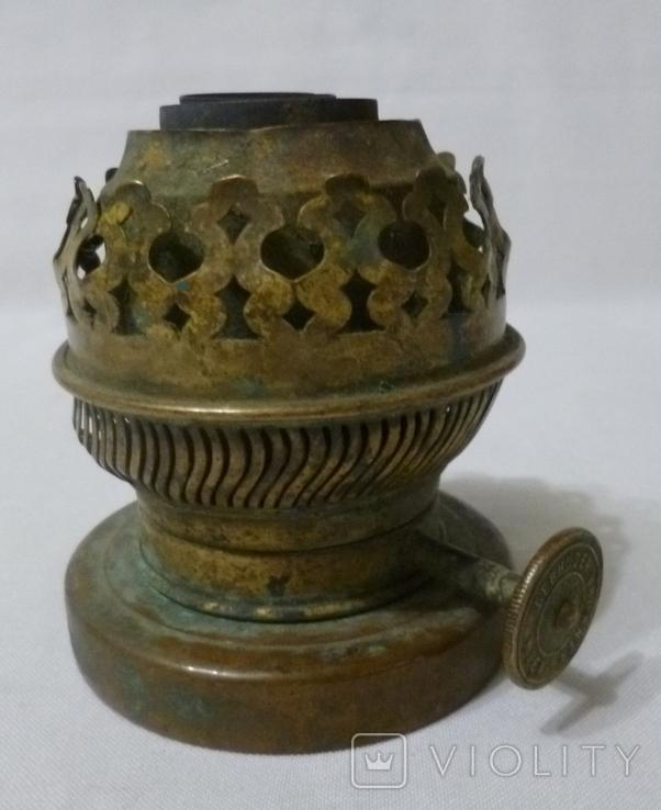 Старая горелка керосиновой лампы., фото №2