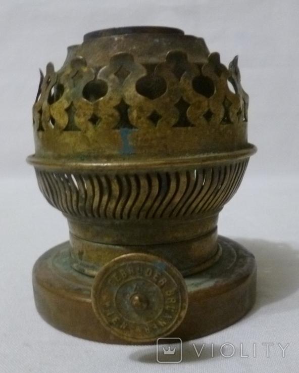 Старая горелка керосиновой лампы., фото №3