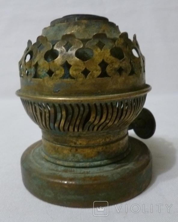 Старая горелка керосиновой лампы., фото №6
