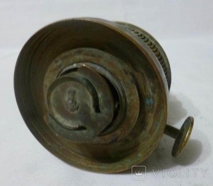 Старая горелка керосиновой лампы., фото №12