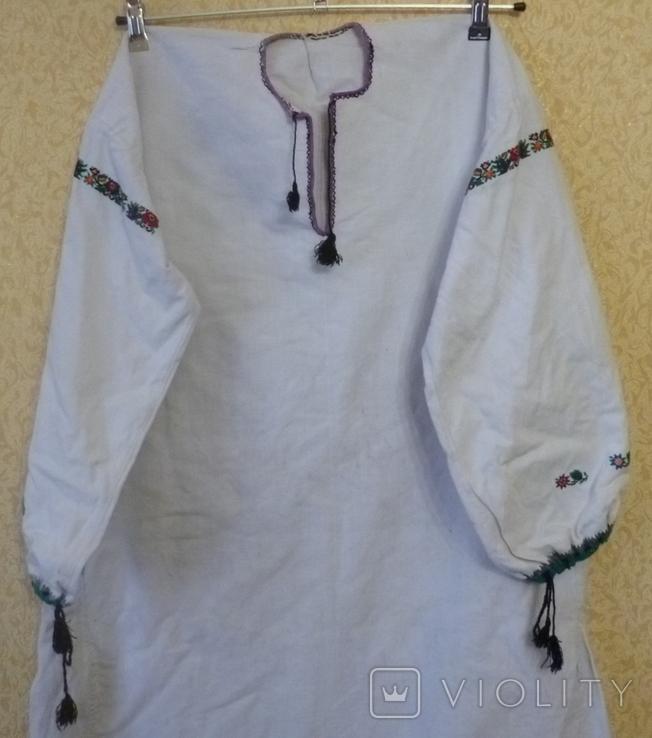 Старая вышитая сорочка., фото №3