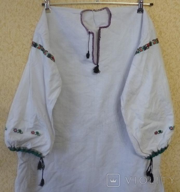 Старая вышитая сорочка., фото №6