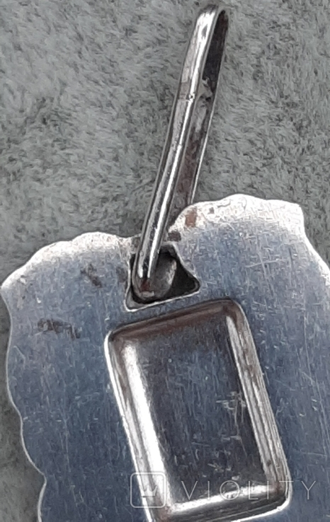 Подвеска серебряная Рак,916 пр.СССР, фото №9