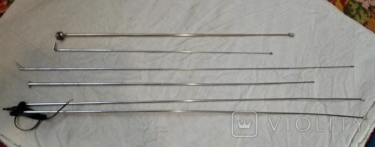 Радиодетали антенны  радиоприемников(5штук), фото №2