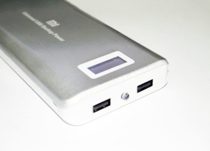 PowerBank Xlaomi Mi  2 USB + Экран 28800mAh, фото №8
