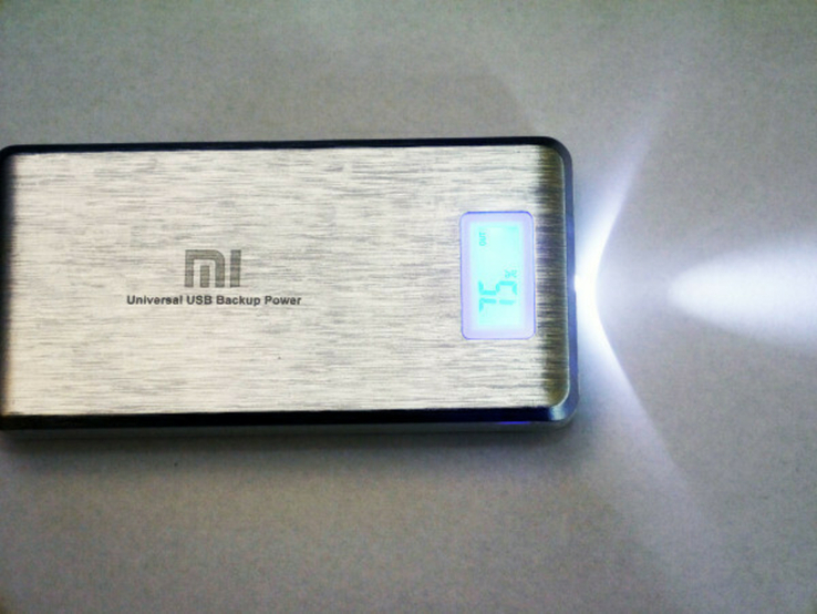 PowerBank Xlaomi Mi  2 USB + Экран 28800mAh, фото №9