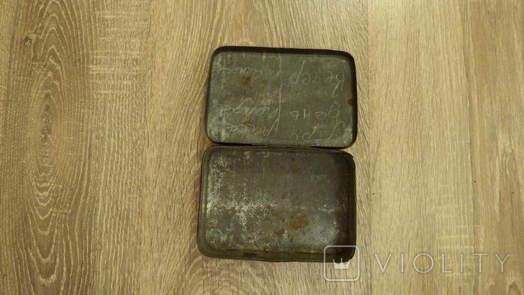 Жестяная коробка.Одесский Облпищетрест.Наркомместпром УССР, фото №9