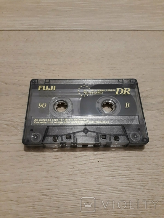 Магнитофонная кассета FUJI, фото №3