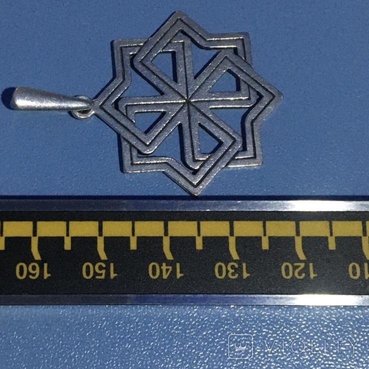 Серебрянный кулон 925-й пробы, фото №4