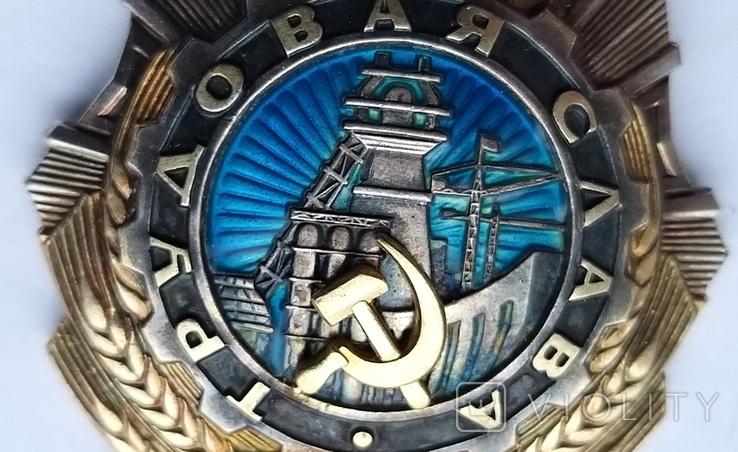 Орден Трудовой  Славы 2 ст.  41248, фото №5