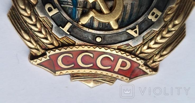 Орден Трудовой  Славы 2 ст.  41248, фото №7