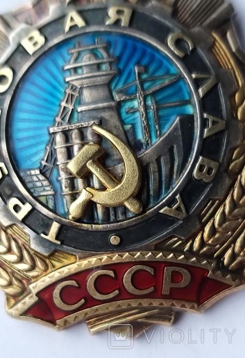 Орден Трудовой  Славы 2 ст.  41248, фото №8