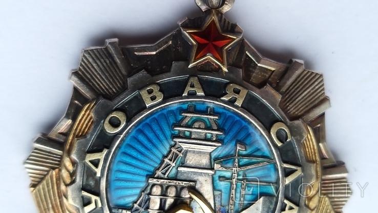 Орден Трудовой  Славы 2 ст.  41248, фото №12