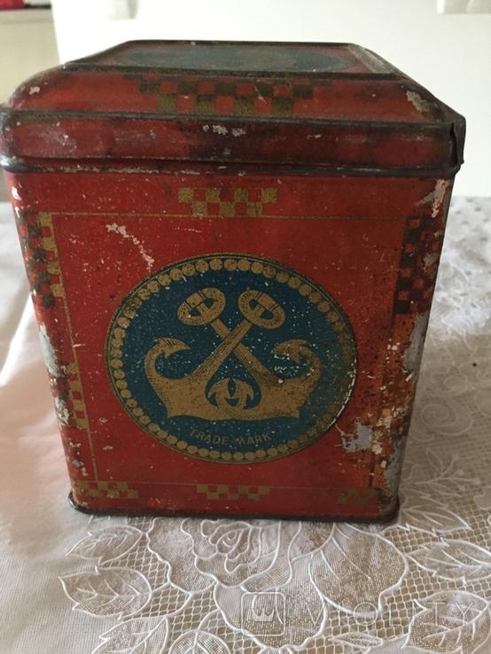 Царська коробка для чаю Кузнецовь (Якоря), фото №3