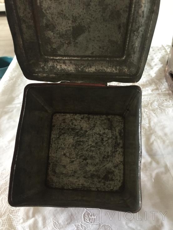 Царська коробка для чаю Кузнецовь (Якоря), фото №8