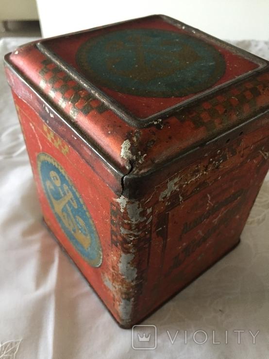Царська коробка для чаю Кузнецовь (Якоря), фото №10