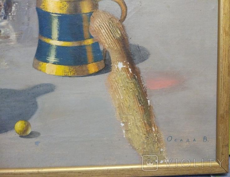 "Осада В.""Натюрморт"" из серии ""Русское золото"", х.м.50*60см, фото №3"