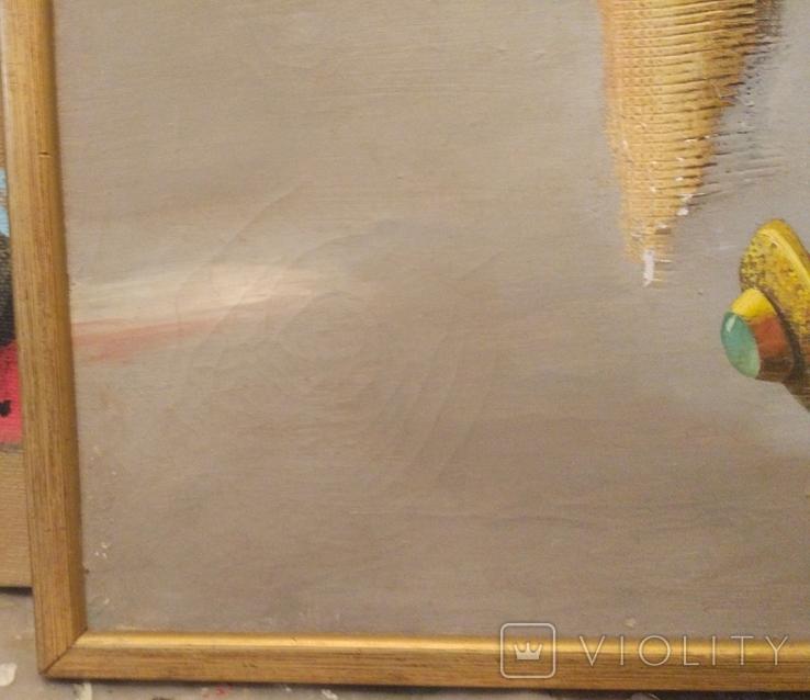"Осада В.""Натюрморт"" из серии ""Русское золото"", х.м.50*60см, фото №5"