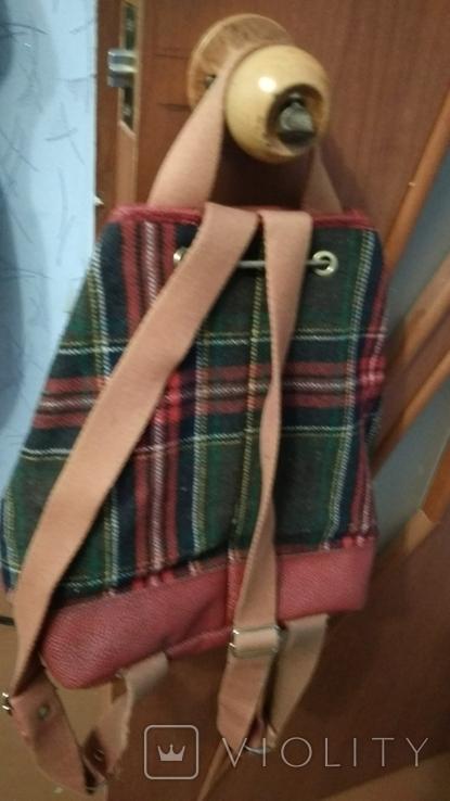 Рюкзак в клетку, фото №3
