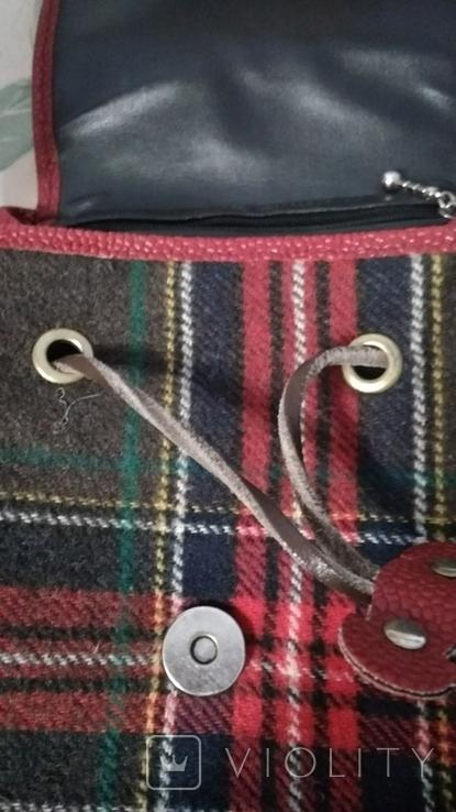 Рюкзак в клетку, фото №6
