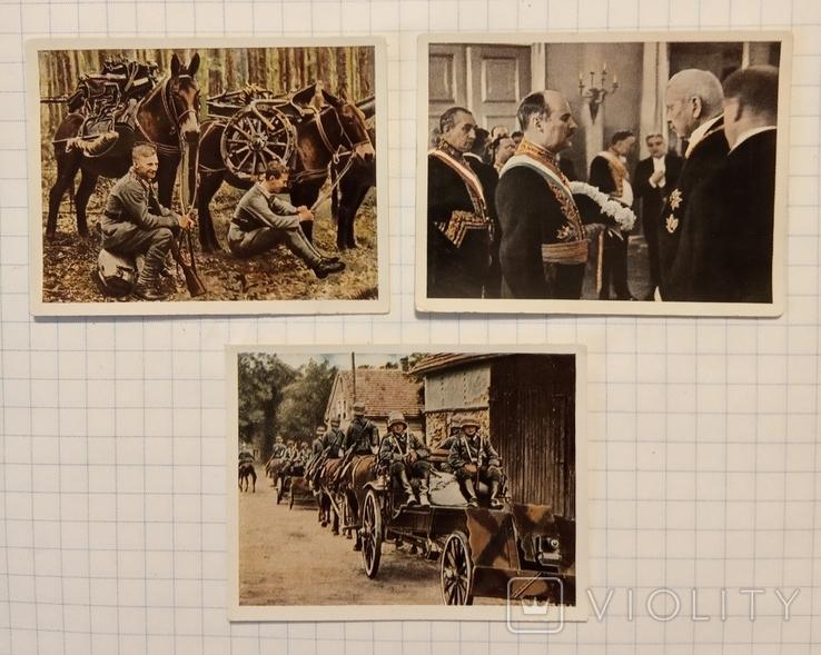 Нацистская Германия сигаретные вкладыши, фото №2