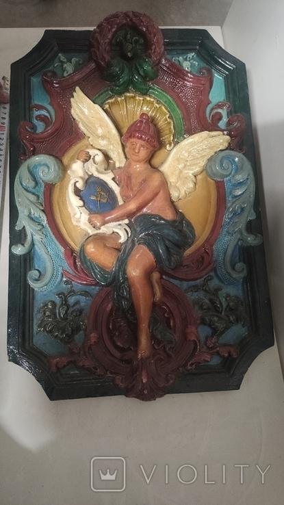 Фрагмент камина Ежи Анджеевский, фото №3