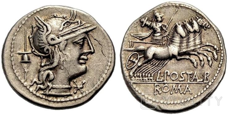 Республиканский денарий 131 г. до н. э.