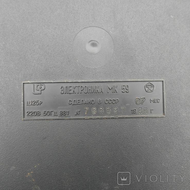 Калькулятор Электроника МК-59, фото №4