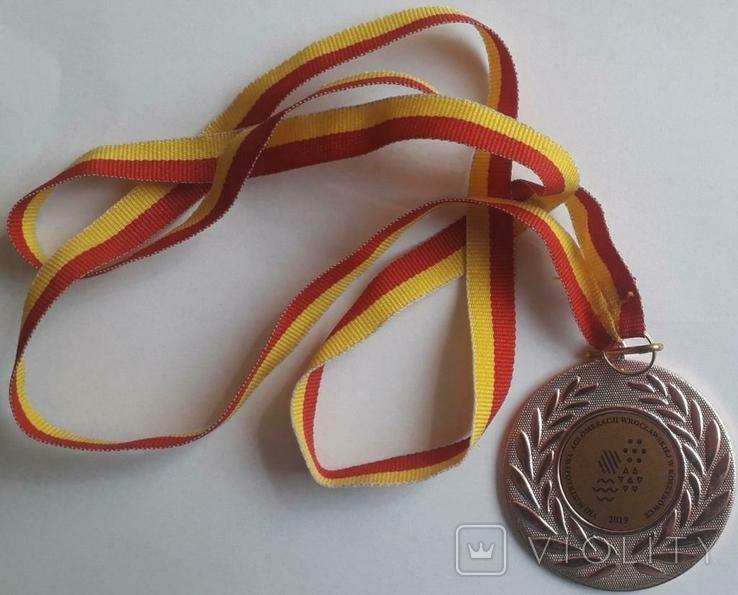 Спортивна Медаль VIIІ Mistrzostwa aglomeracji Wroczlawskiej w koszykowce 2019, фото №3
