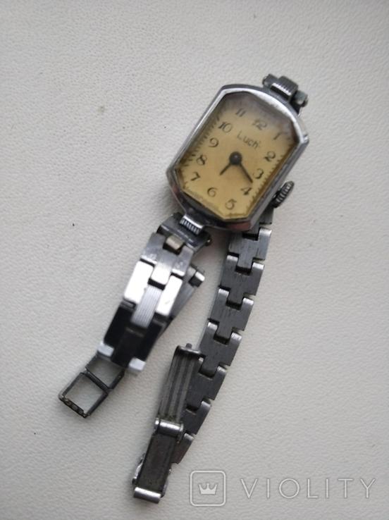 Часы Луч с браслетом., фото №2