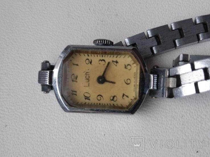 Часы Луч с браслетом., фото №3