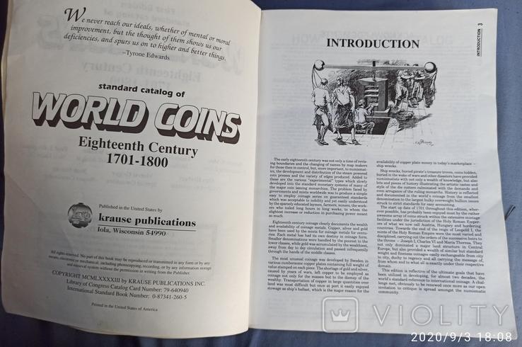 Монеты мира 1701 - 1800гг, фото №3