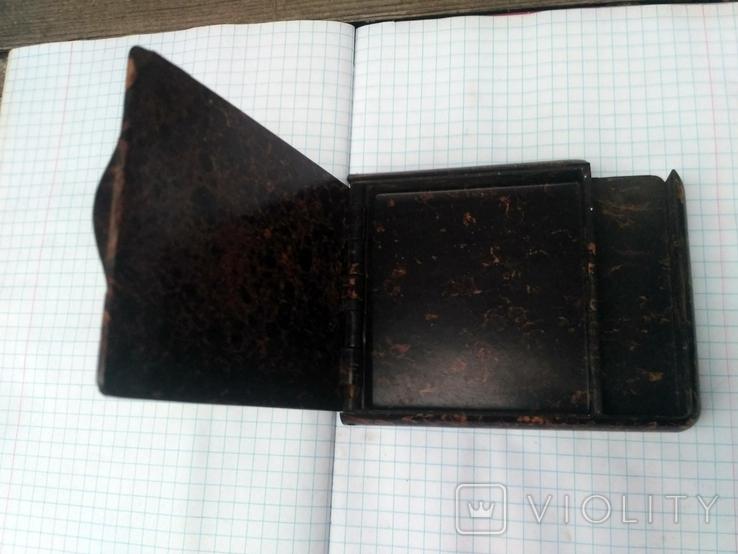 Бакелитовый солдатский портсигар, фото №2