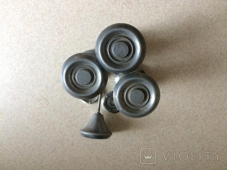 Винтажные дверные ручки, фото №5