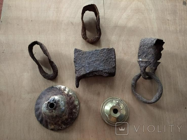 Бытовые изделия из металла, 6 шт., фото №5