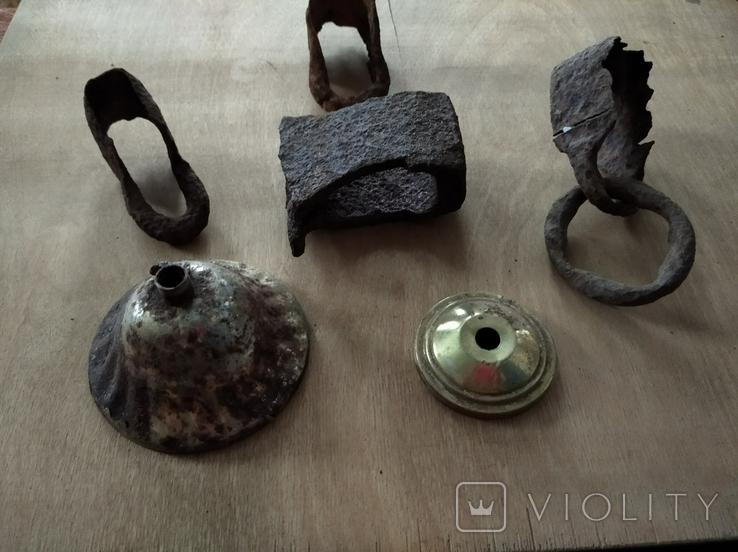 Бытовые изделия из металла, 6 шт., фото №6