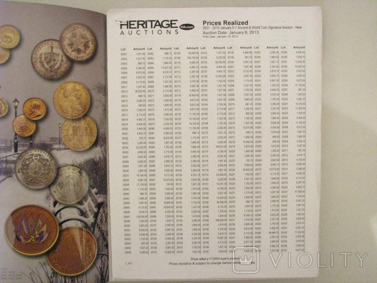 Аукционные каталоги HERITAGE + результаты торгов., фото №6