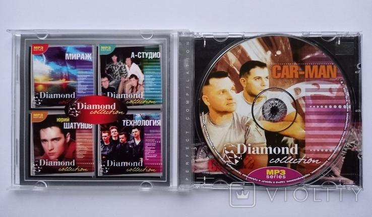 CAR-MAN. Daimond collection. MP3., фото №4